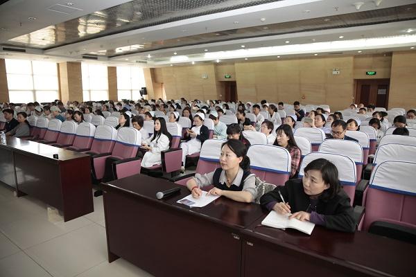 医院组织召开等级评审评价工作科室联络员第二次会议